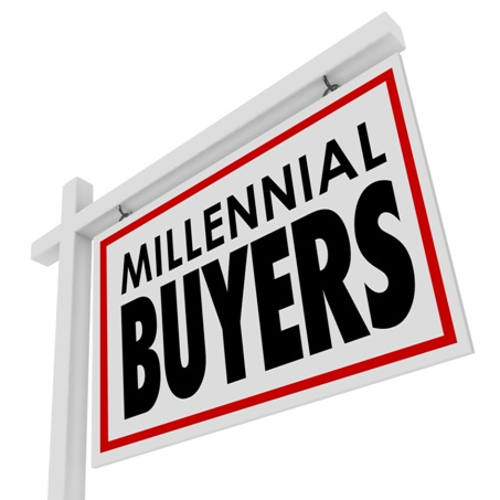 Millennial Buyers Home for Sale House Real Estate Sign